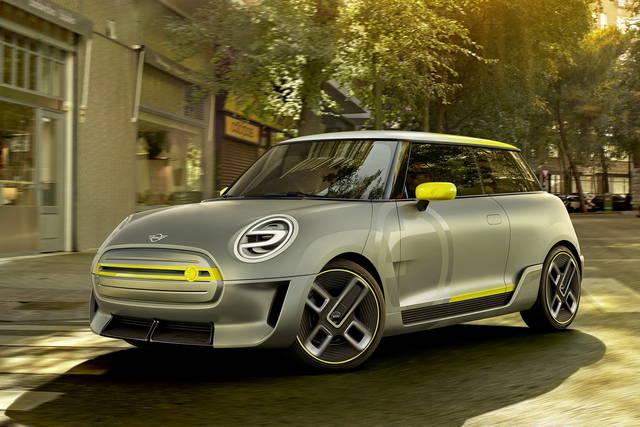 Electric Concept, la prima Mini elettrica di serie arriverà nel 2019