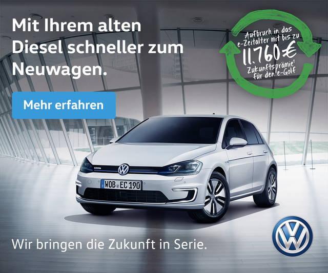 Volkswagen: in Germania incentivi fino a 10.000 euro