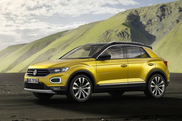 Volkswagen T-Roc: piccola e sbarazzina