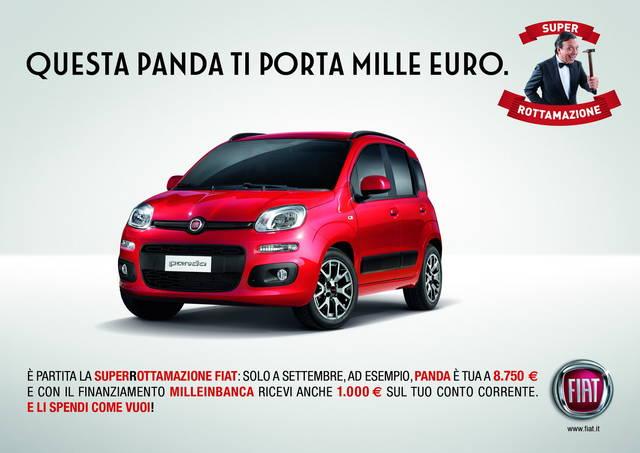 Fiat e Lancia SuperRottamazione: bonus di 1.000 euro
