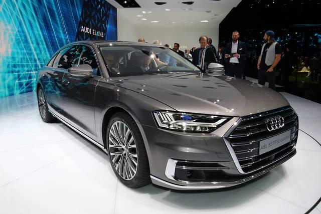 Audi A8: un concentrato di tecnologia
