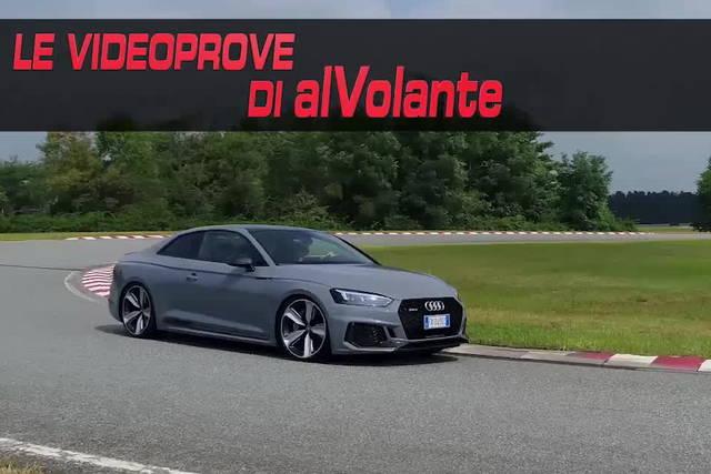 Audi RS 5 Coupé: velocissima con due cilindri in meno