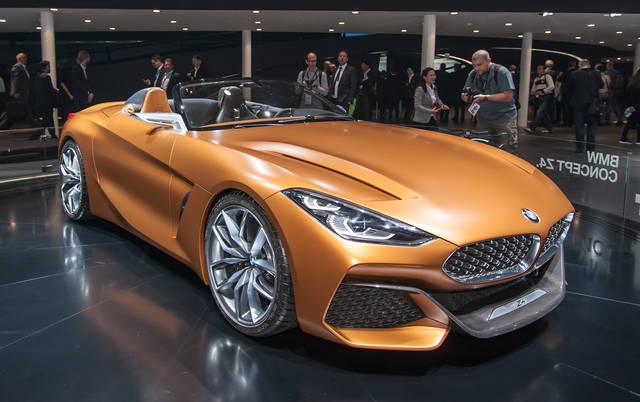 BMW Concept Z4: torna il tetto in tela