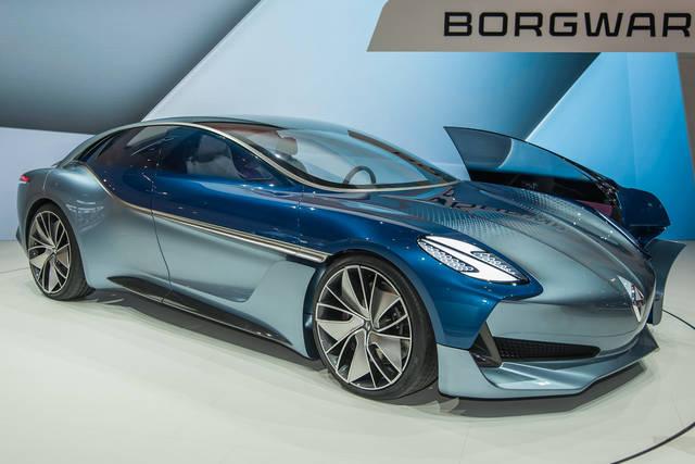 Borgward Isabella: linee classiche per la coupé elettrica