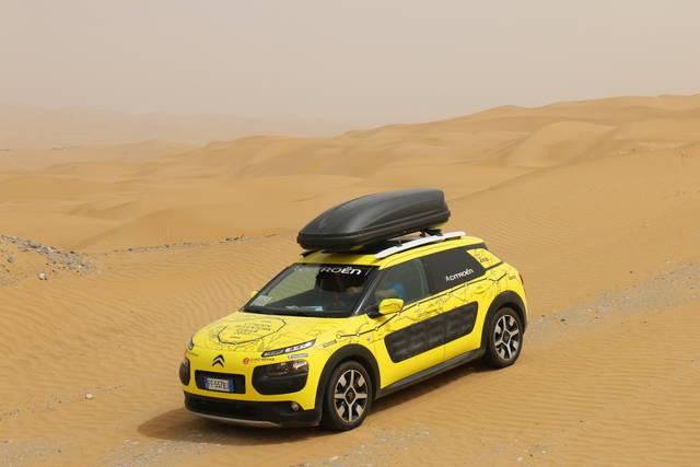 Avventura Gialla: 17.000 km con la Citroën C4 Cactus