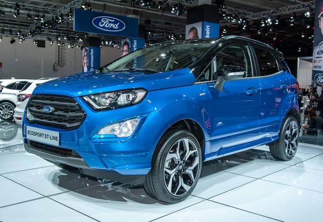 """Ford EcoSport: nuova """"faccia"""" per la suv piccola"""