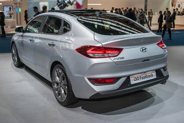Hyundai i30 Fastback: una 5 porte filante