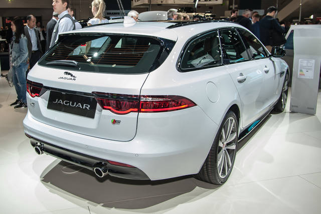 Jaguar XF Sportbrake: wagon con brio