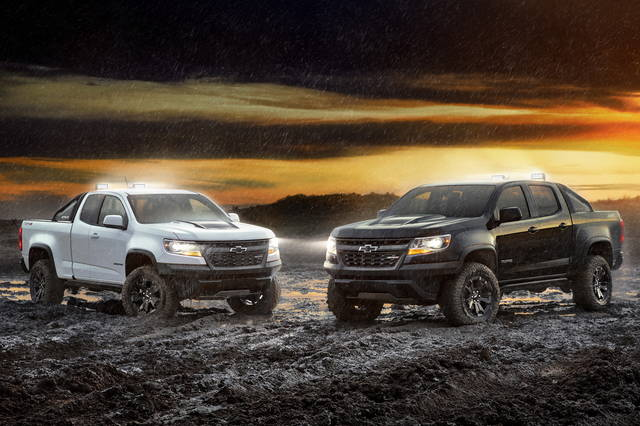 Dalla Chevrolet due nuovi pick-up Colorado ZR2