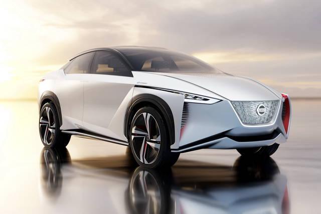 Schema Elettrico Nissan Qashqai : Nissan imx la crossover elettrica che guida da sola