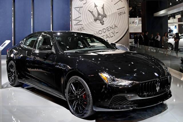 Nerissimo: per chi la Maserati la vuole tutta... nera