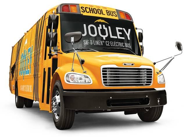 Negli usa anche gli scuolabus diventano elettrici for Nuovi piani domestici americani