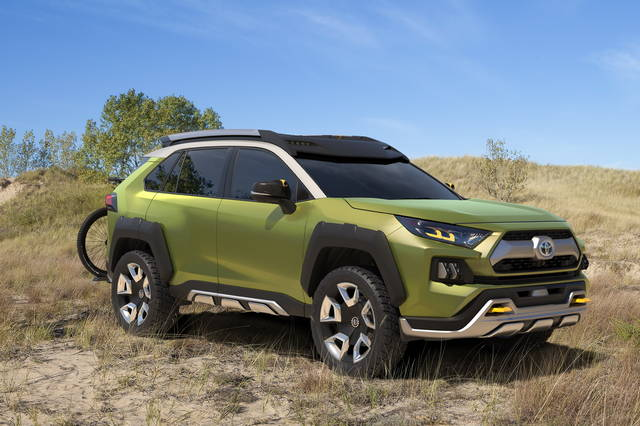 All'avventura con la Future Toyota Adventure Concept