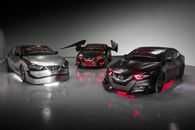 Le Nissan per i fan di Star Wars