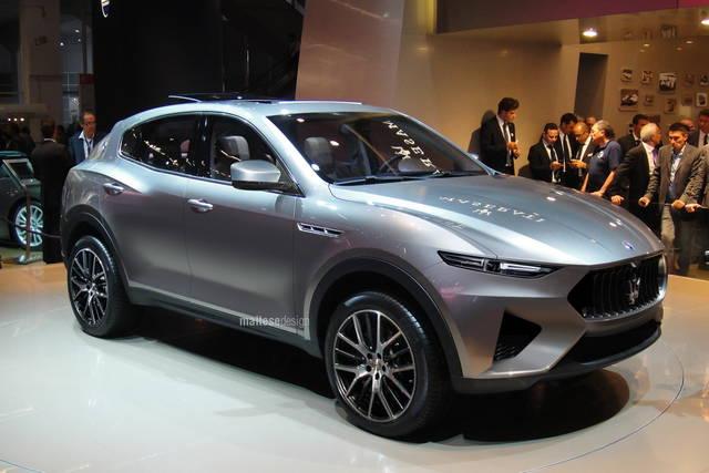 Maserati: la gamma si allarga con la suv medio-grande