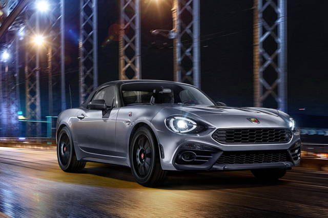 Sulla Abarth 124 Spider arriva l'hard-top