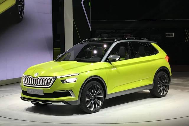 Skoda Vision X: nel 2019 il modello di serie