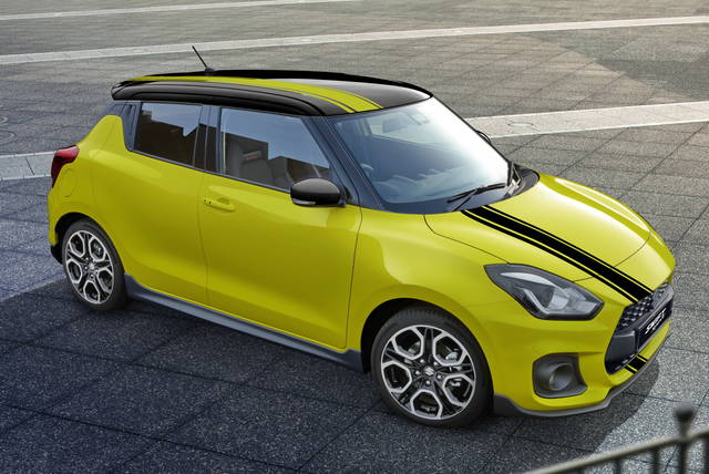 Suzuki Swift Sport: la BeeRacing si ordina su internet