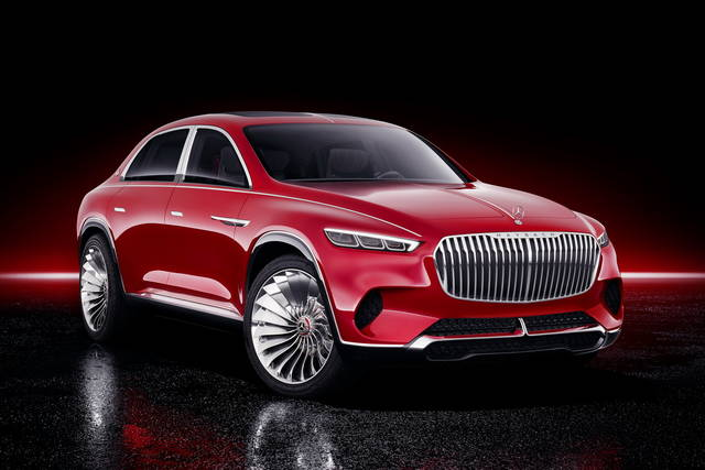 Vision Mercedes-Maybach Ultimate Luxury: lusso in formato suv