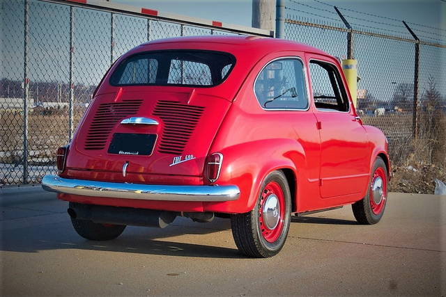 "Fiat 600 Angry Mosquito: un ""missile"" dal sapore vintage"
