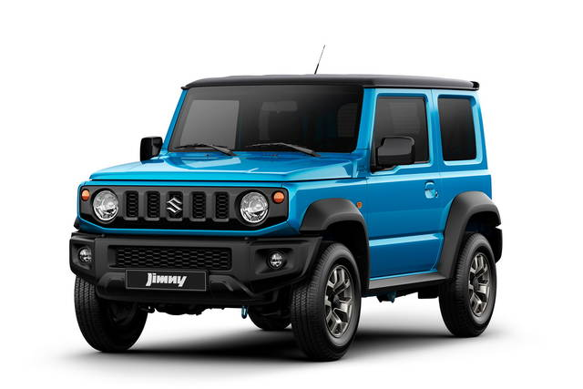 suzuki jimny 2018 le prime immagini. Black Bedroom Furniture Sets. Home Design Ideas