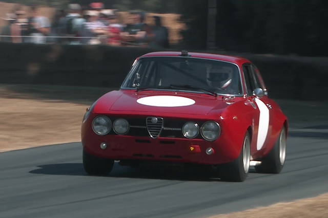 Al Festival of Speed 2018 con l'Alfa Romeo 1750 GT Am