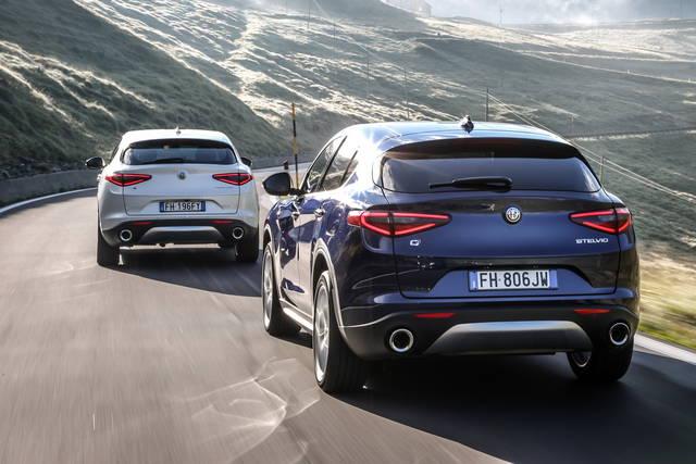 Alfa Romeo Stelvio: più potenza per le diesel