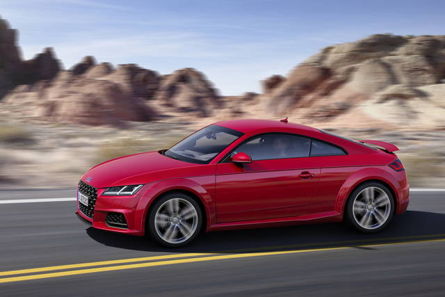 La rinnovata Audi TT  ora disponibile in Germania