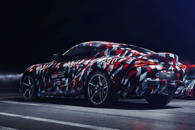 Toyota Supra: il debutto a Goodwood