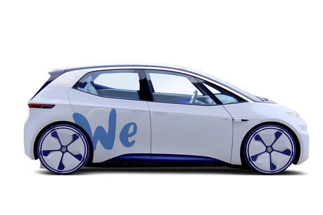 La Volkswagen annuncia il car sharing We