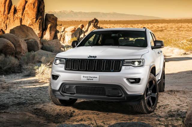 Jeep Grand Cherokee Upland: una ricca dotazione