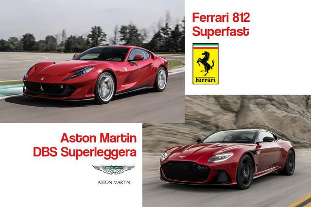 Aston Martin Dbs Superleggera Vs Ferrari 812 Superfast Qual E La