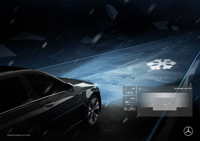 Mercedes Digital Light: i fari… comunicano