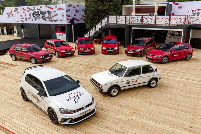 GTI Coming Home: la festa delle Volkswagen Golf