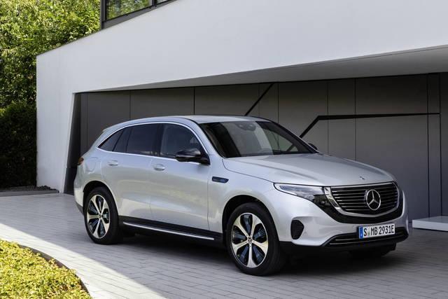Mercedes EQC: 100% elettrica