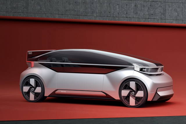 Volvo 360c un nuovo modo di concepire l auto for Nuovo modo di costruire case