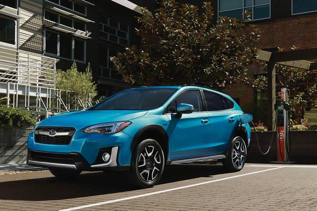 La Subaru Crosstrek è anche ibrida plug-in