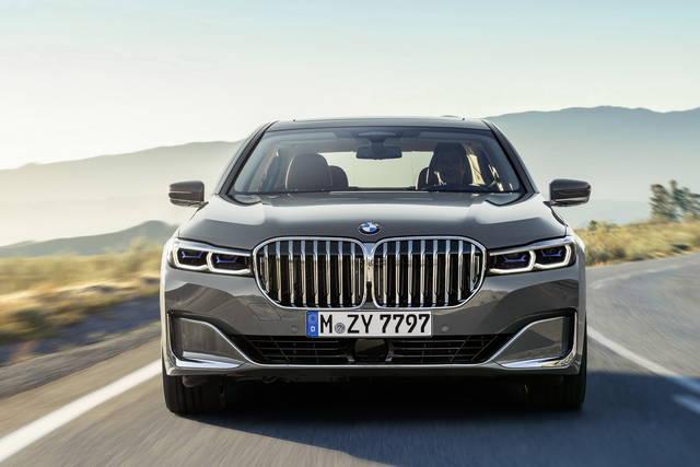 BMW Serie 7 che bocca grande hai