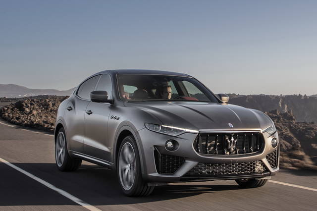 e0d510ff2839 The Maserati Levante is a … volcano