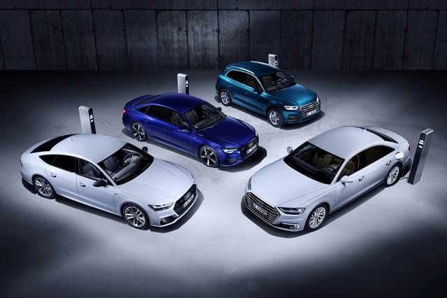 Audi electrified cars