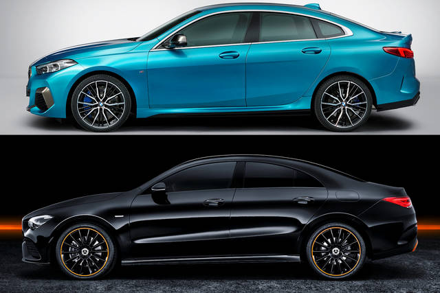 Bmw 2 Series Gran Coupe Vs Mercedes Cla Which Do You Prefer