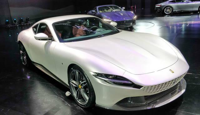 Ferrari Roma l\u0027abbiamo vista dal vivo