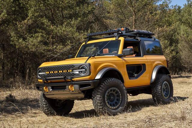 Ford Bronco: fra passato e presente