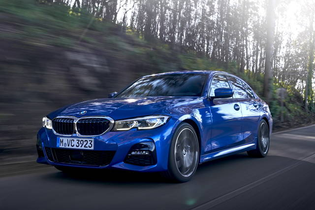 Bmw 3 Series Test Specification Views And Dimensions 330i Msport