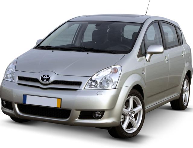 prezzo auto usate toyota corolla verso 2009 quotazione eurotax. Black Bedroom Furniture Sets. Home Design Ideas