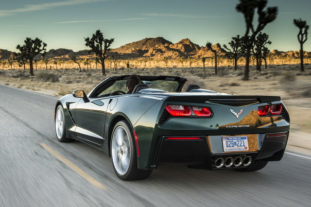 Chevrolet Corvette C7 Convertible