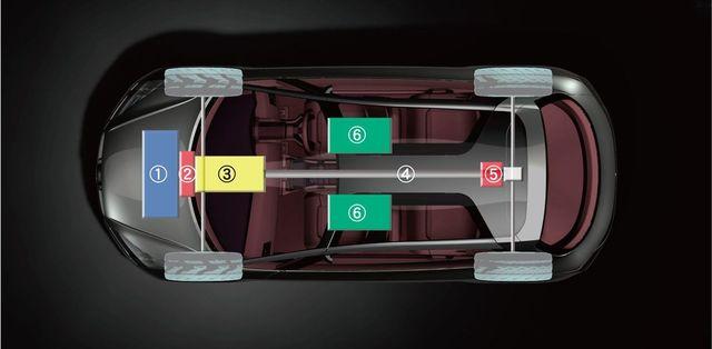 Subaru hybrid tourer concept salone tokio 7