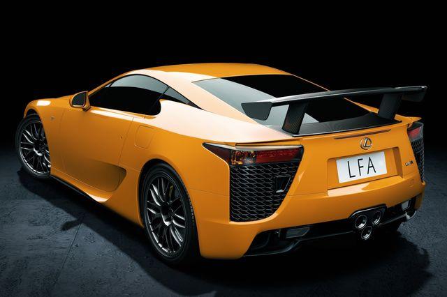 Lexus lfa nurburgring 03