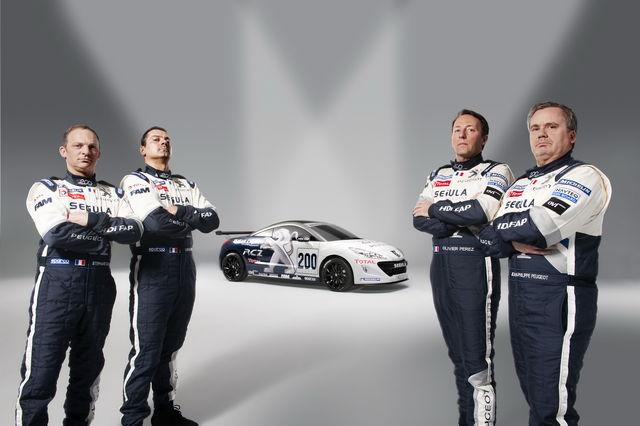 Peugeot rcz 24 ore nurburgring 2010 4