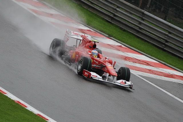 Alonso 2 belgio 2010 formula 1